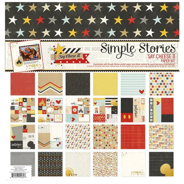 Simple Stories: Say Cheese II Paper Kit (SAY4300)