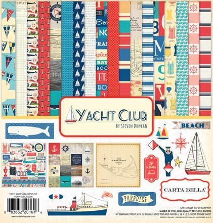 Carta Bella: Yacht Club collection-kit 12x12""