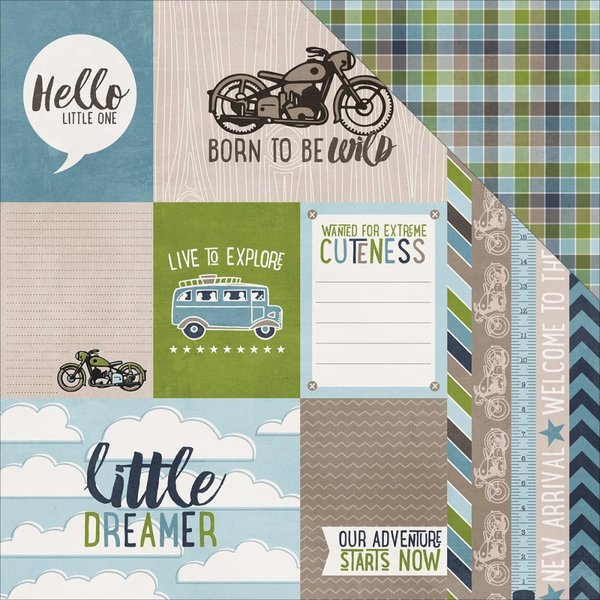 Echo Park: My Little Boy - Journaling Cards (SW6003)