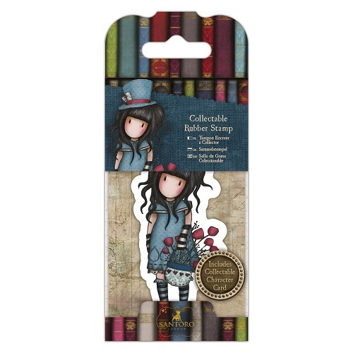 Gorjuss Collectable Mini Rubber Stamp - Santoro - No. 29 The Hatter (GOR 907409)