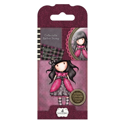 Gorjuss Collectable Mini Rubber Stamp - Santoro - No. 5 Ladybird (GOR 907305)