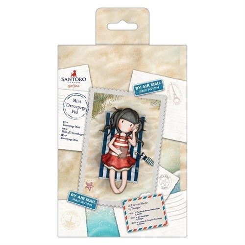 Gorjuss: Mini Decoupage Pad (GOR 169127)