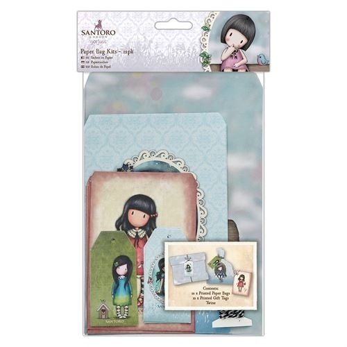 Gorjuss: Paper Bag Kits (12pk) - Santoro (GOR 165103)