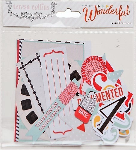 Teresa Collins: Something Wonderful Ephemera Pack (SW1014)