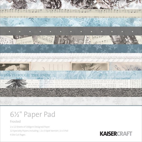 "kaisercraft Frosted paper pad 6,5x6,5"" (PP1005)"