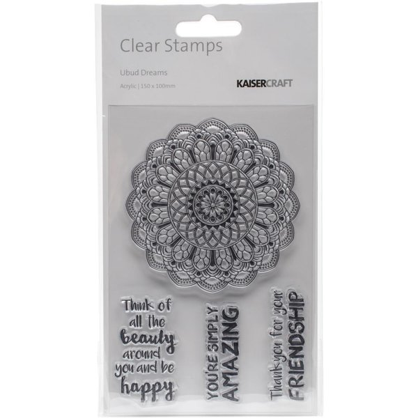 kaisercraft Ubud Dreams Clear Stamps (CS280)