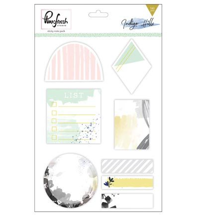 Pinkfresh: Indigo Hills Sticky note pack (PFRC301116)
