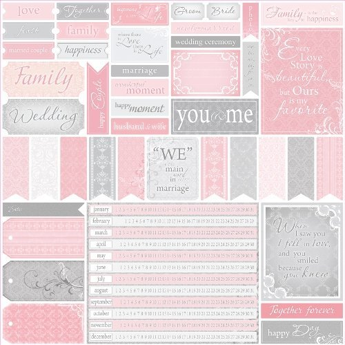 Scrapberry's: for wedding cards 2 (SCB220602626b)