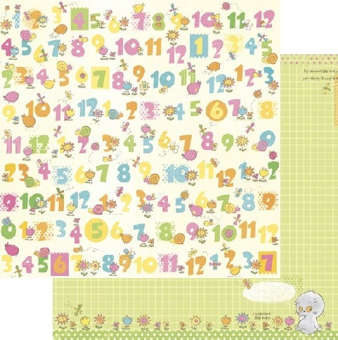 Scrapberry's: Sweet Dreams - My First Numbers (SCB220607402)