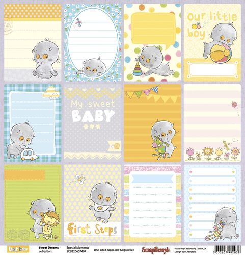 Scrapberry's: Sweet Dreams - Special Moments (SCB220607407)
