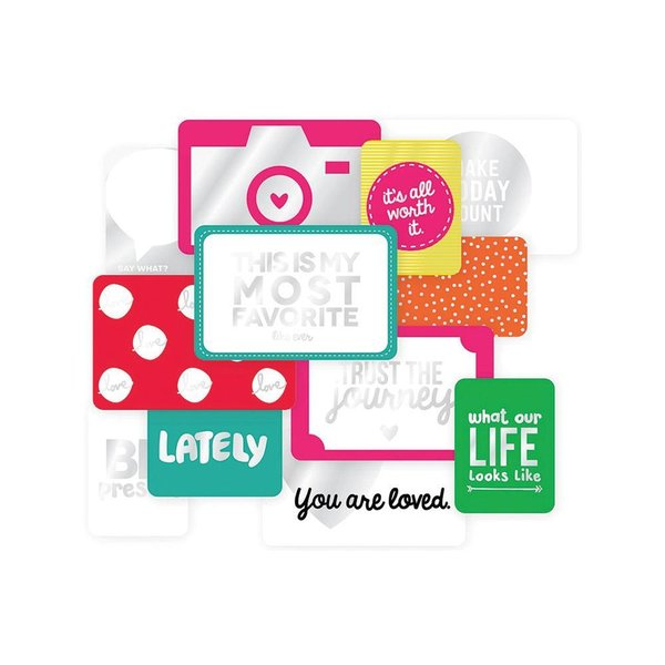 Project Life: Confetti Edition Specialty Foil Card Pack 12/Pkg (380436)