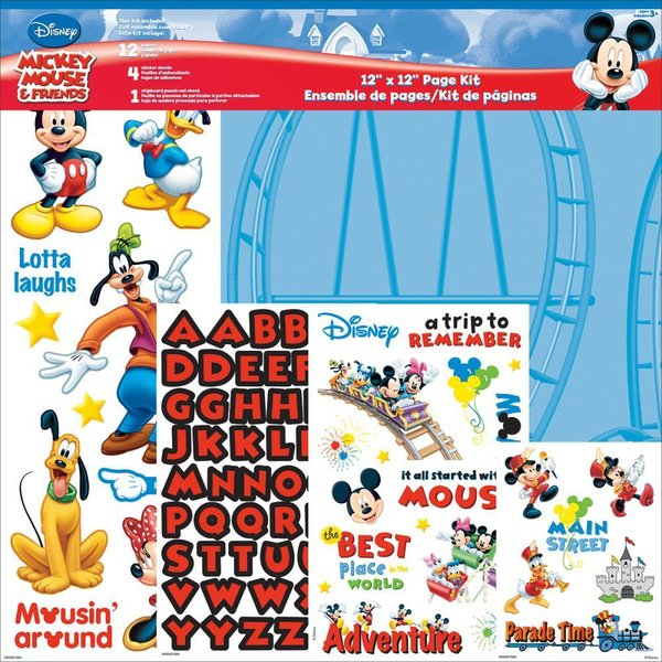 "Trends: Mickey Mouse Page Kit 12""X12"" (SC9002)"