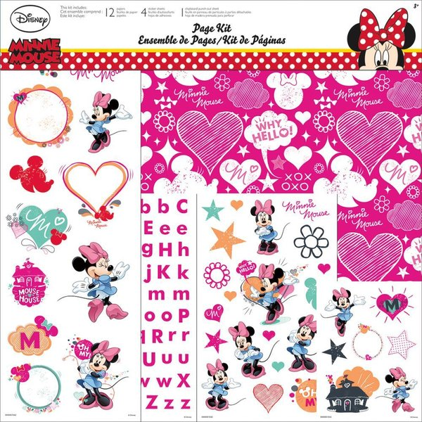 "Trends: Minnie Mouse Page Kit 12""X12"" (SC9005)"
