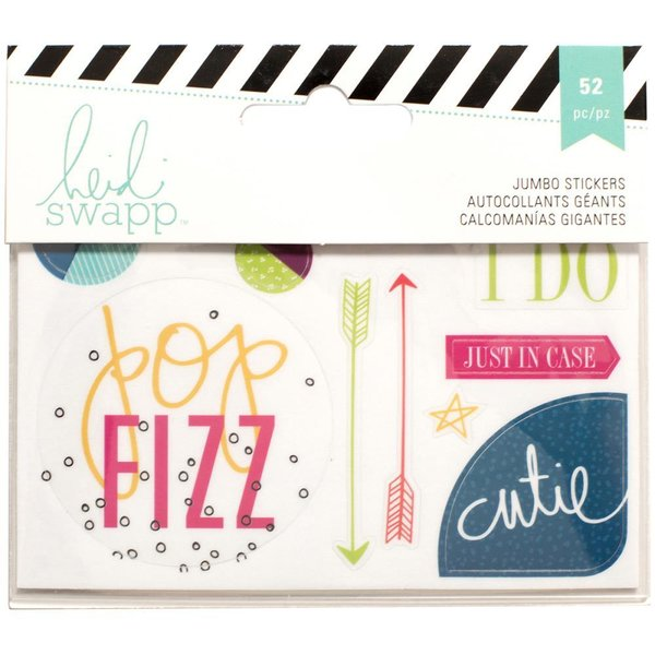 American Crafts: Heidi Swapp Jumbo Clear Stickers