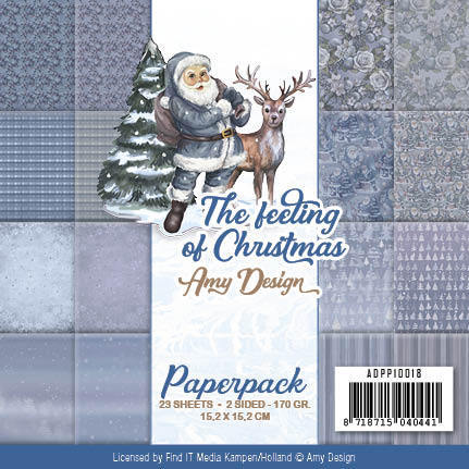 "Amy Design The Feeling of Christmas - paperpack 6*6"" (ADPP10018)"