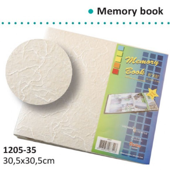 "Vaessen creative: Memory book naturel paper 12x12"" (1205-35)"
