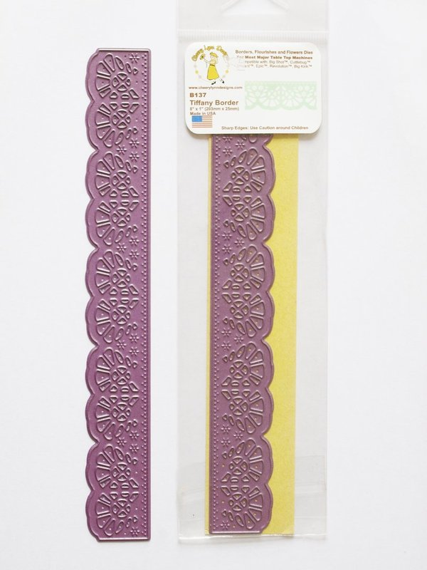 Cheery Lynn Doily Mal Tiffany border (B137)