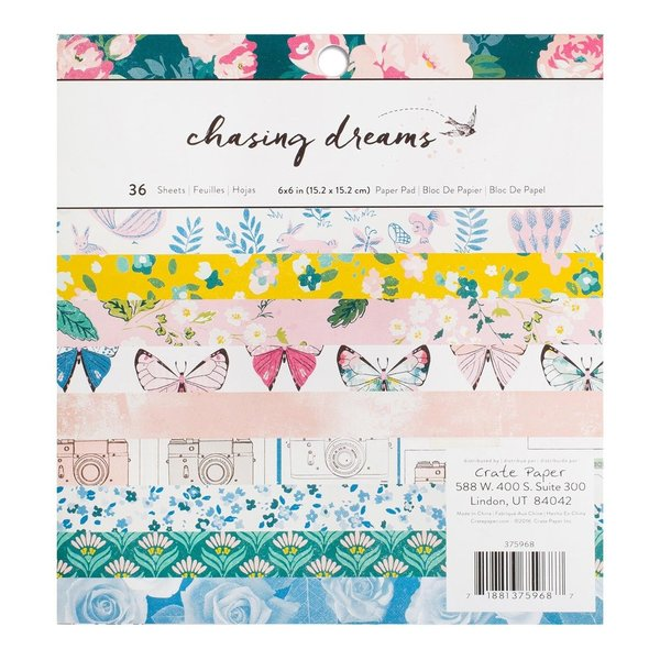 "Crate paper: Chasing Dreams 6*6"" (375968)"
