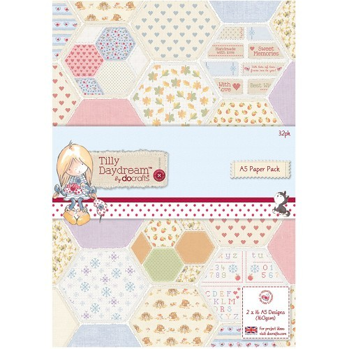 Docrafts: Tilly A5 Paper Pack (32pk)