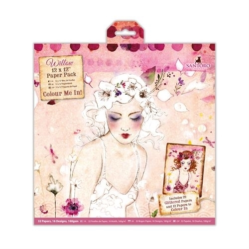 "Willow: 12*12"" Paper Pack (WIL 160100)"