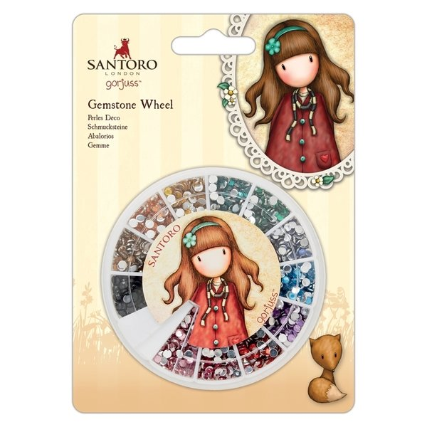 Gorjuss: Gemstone Wheel - Santoro - Mirrored (GOR 356002)