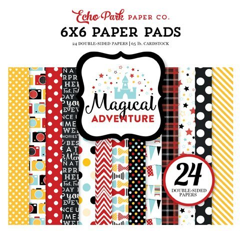Echo Park: Magical Adventure 2 6x6 Inch Paper Pad (MAG177023)