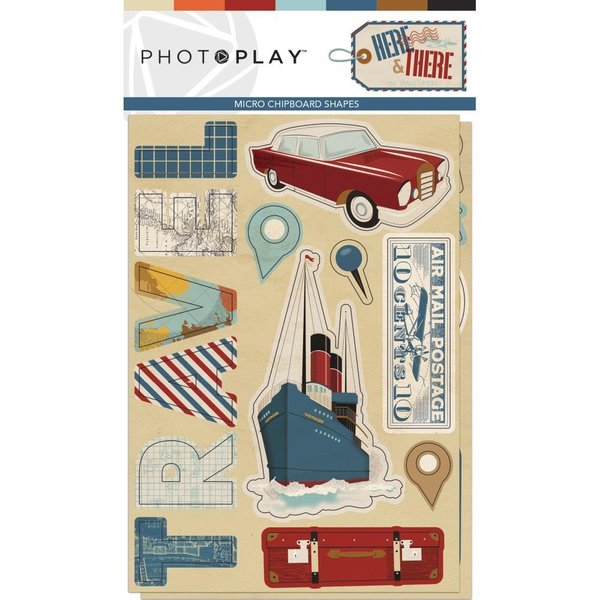 Photoplay: Here & There Chipboard (HAT9300)