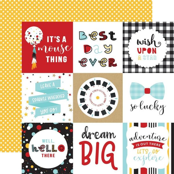 "Echo Park: Magical Adventure 2 4""X4"" Journaling Cards (MAG177 - 5)"