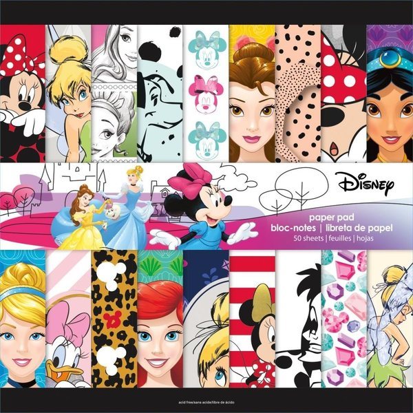 "Trends: Girl Paper pack 50 sheets 12""x12"" (SC9680)"