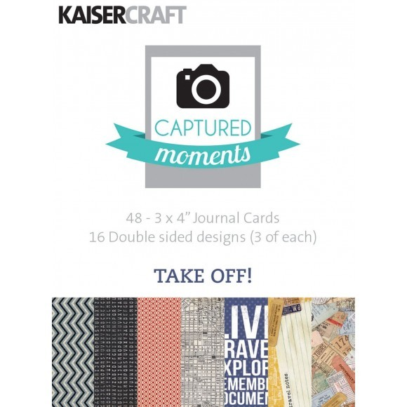 kaisercraft Take off - captured moments 3x4""