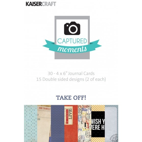 kaisercraft Take off - captured moments 4x6""