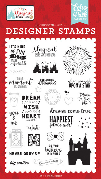 Echo Park Dreams Come True Clear Stamps (MAG177049)