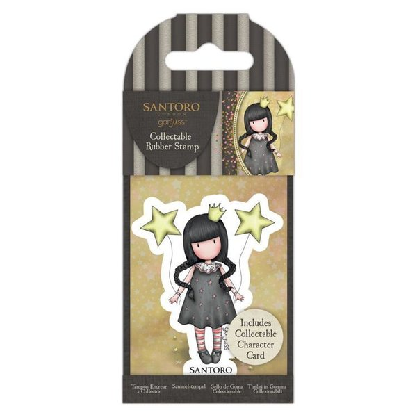 Gorjuss: Collectable Mini Rubber Stamp No.71 My Own Universe (GOR 907336)