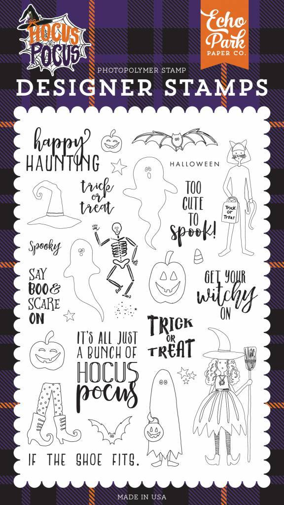 Echo Park Happy Haunting Clear Stamps (HO157043)