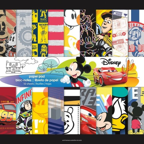 "Trends: Boy Paper pack 50 sheets 12""x12"" (SC9681)"