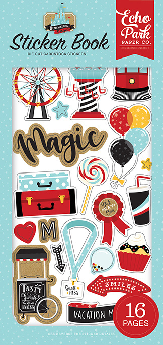 Echo Park: Remember The Magic Sticker Book (REM208029)