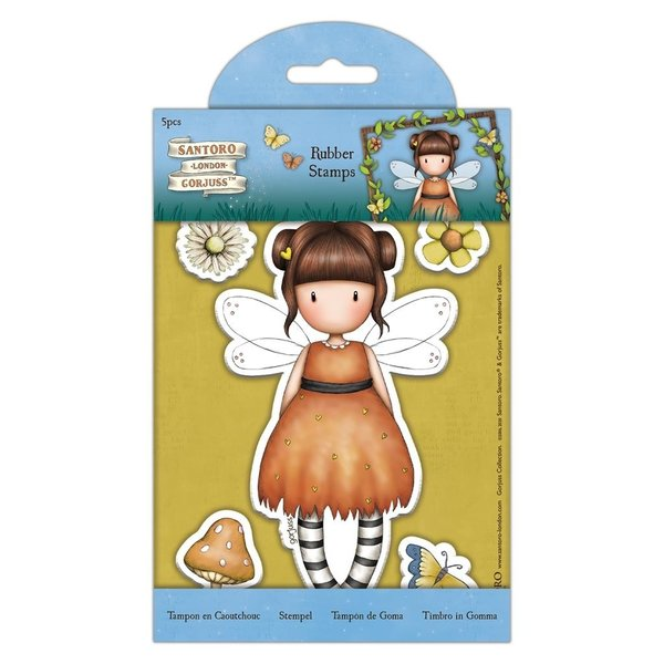 Gorjuss Rubber Stamps Little Pumpkin (5pcs) (GOR 907165)