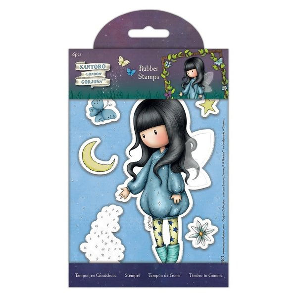 Gorjuss Rubber Stamps Bubble Fairy (6pcs) (GOR 907164)
