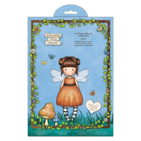 Gorjuss: Faerie Folk A4 Ultimate Die-Cut & Paper Pack (GOR 160132)