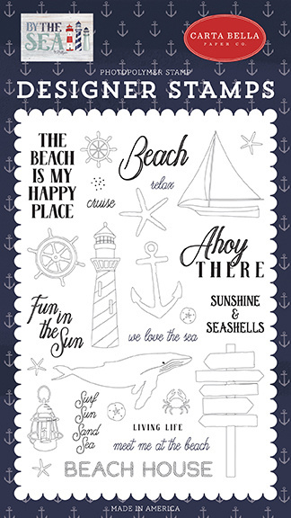 Carta Bella Ahoy There Clear Stamps (CBBS120040)