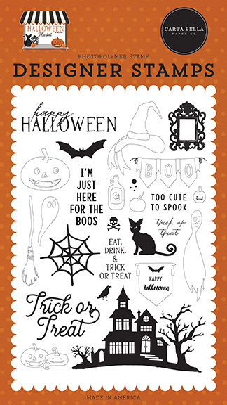 Carta Bella Haunted Night Clear Stamps (CBHM121046)