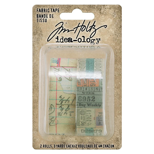 Tim Holtz Idea-ology Fabric Tape (TH94041)