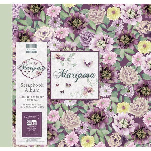 First Edition Mariposa 12x12 Inch Album Flowers (FEALB084)