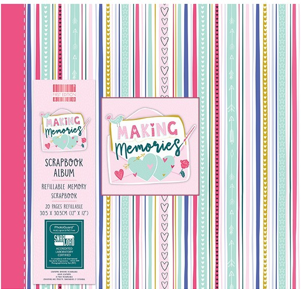 First Edition Making Memories 12x12 Inch Album (FEALB096)