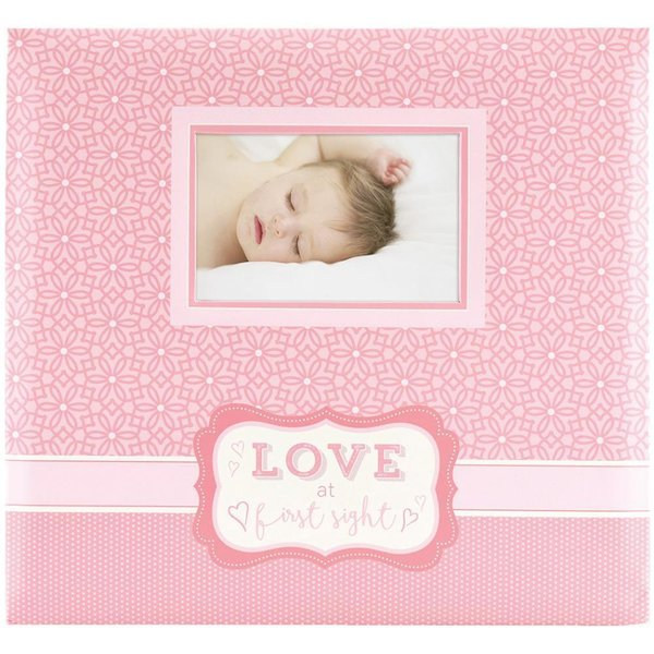 "MBI Love At First Sight Expressions Post Bound Album W/Window 12""x12"" (860126)"