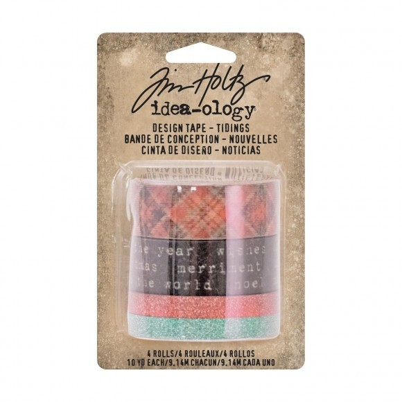 Tim Holtz: design tape tidings (TH93343)